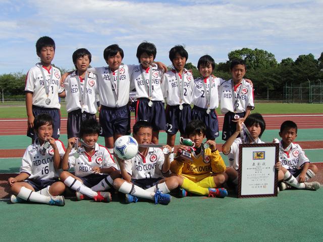 第32回千葉県少年サッカー選手権5年生大会準優勝